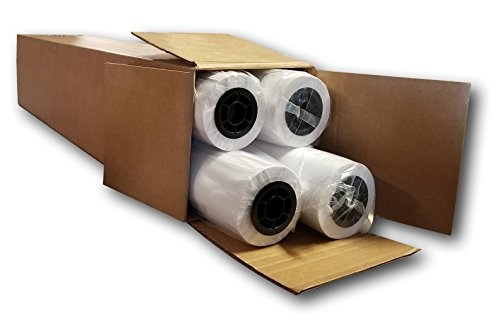 (BigJet Aqueous Bond Paper, Engineering Paper, CAD Inkjet Plotter Paper (4-pack) - 36