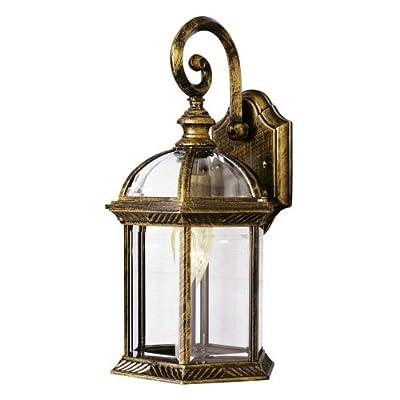 Trans Globe Lighting 15-3/4-Inch 1-Light Outdoor Wall Lantern