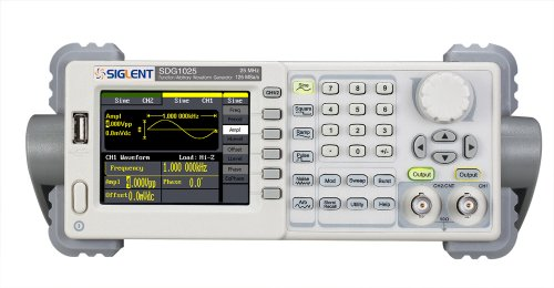 Siglent SDG1025 Function/Arbitrary Waveform Generator, 25MHz, 125MSa/s Sample Rate ()