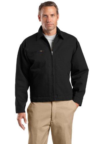 Work Cornerstone Jacket - CornerStone Tall Duck Cloth Work Jacket>LT Black TLJ763