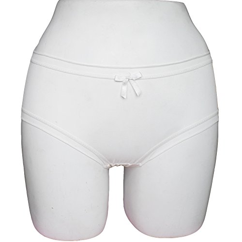 MEINA Shorts Para Mujer Body Soft Modal Briefs Comfort Stretch Shorts White