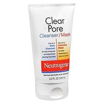 Neutrogena Clear Pore Cleanser Mask 4.20 oz Pack of 3