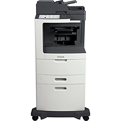 Lexmark 24TT478 MX812DXE Laser Multifunction Printer - Monochrome - Plain Paper Print - Desktop - Copier/Fax/Printer/Scanner - 70 ppm Mono Print - 1200 x 1200 dpi Print - 70 cpm Mono Copy - Touchscreen - 600 dpi Optical Scan - Automatic Duplex Print - 275
