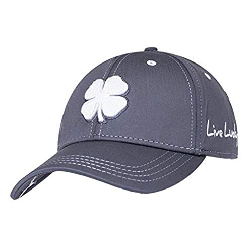 - Black Clover Mens Premium Clover #26 White/Grey/Grey Large/X-Large Fitted Hat - 617353831535