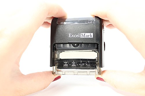 CONTROLLED COPY Self Inking Rubber Stamp - Red Ink (ExcelMark A1539) Photo #2