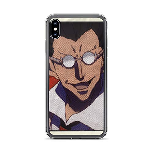 (iPhone Xs Max Case Anti-Scratch Japanese Comic Transparent Cases Cover Demiurge Anime & Manga Graphic Novels Crystal Clear)