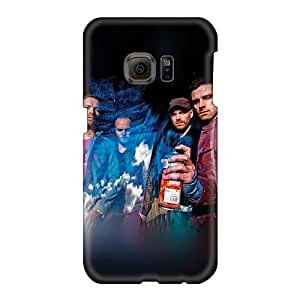 Shockproof Hard Cell-phone Case For Samsung Galaxy S6 (Rtu11341vlUZ) Support Personal Customs Beautiful Coldplay Band Skin
