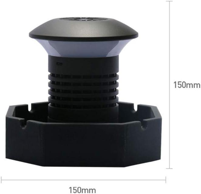 YHGXS Cenicero Sin Humo Purificador De Aire para Purificador De Aire De Filtro Portátil para El Hogar, Elimina La Carga USB De Humo De Segunda Mano: Amazon.es: Hogar