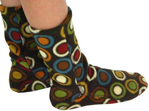 Polar Feet Kids Fleece Socks for Toddlers to Youth
