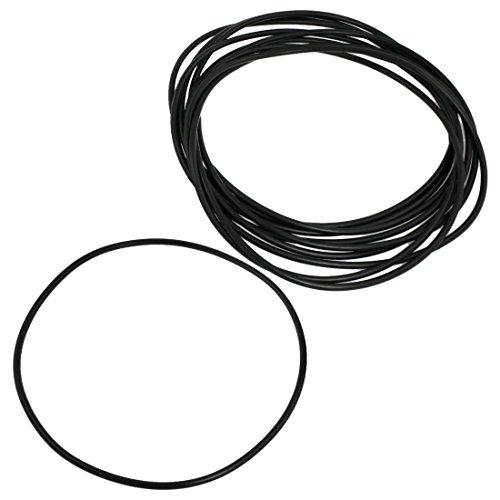 SODIAL 165 mm x 4 mm black nitrile rubber O ring NBR sealing gaskets 10 PCS