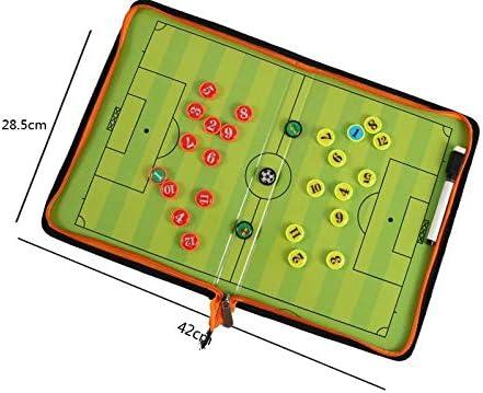 CompraFun Carpeta Táctica Plegable para Entrenamiento de Fútbol ...