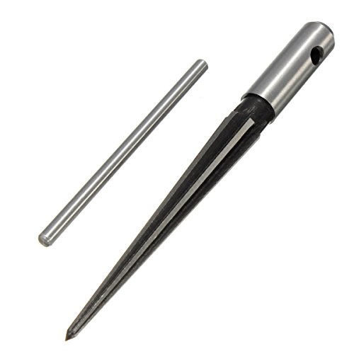 1/8 -1/2 Inch 6 Fluted Bridge Pinhole Reamer Tapered Woodworking Tool from HITSAN