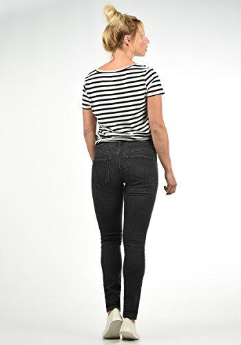 Couleur Moda Pantalon Rise Femme Diamond Grey M pour Mid Strech Jeans Denim Taille Vero L32 BIqBdO