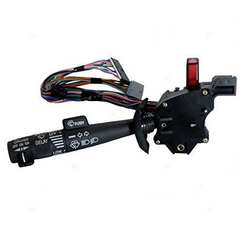 Chevy Turn Signal Lever Replacement : Turn signal wiper switch cruise hazard warning lever
