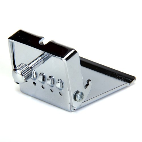 BANJO TAILPIECE CLAMSHELL Plate 5 String Chrome by Generic (Image #6)