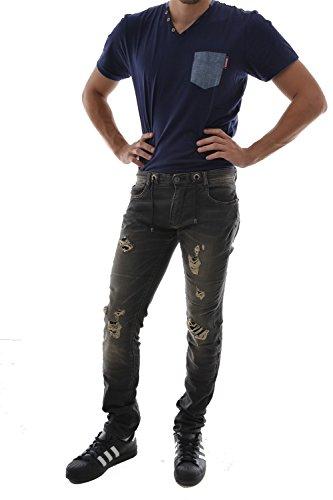 jeans Le Temps Des Cerises 711 jogg gris