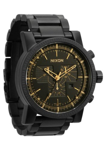 Matte Black/Gold The Magnacon SS by Nixon