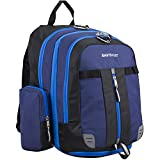 Eastsport Oversized Expandable Backpack with Removable EasyWash Bag, Deep Cobalt Blue