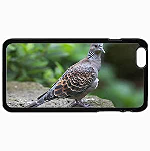 New Fashion Case Customized Cellphone case cover Back Cover For iphone 4s ZlBzUqPVanh Plus, protective Hardshell case cover Personalized Bird Black
