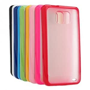 Soft Gel TPU Matt Frosted Case For SAMSUNG Galaxy SII I9100 --- Color:Pink