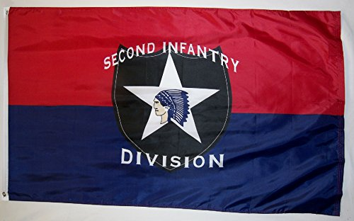 Second Infantry Division Flag 3' X 5' Indoor Outdoor Banner