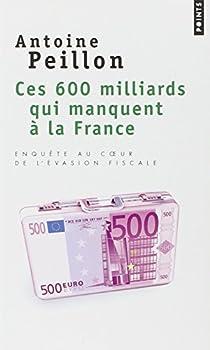 Ces 600 milliards qui manquent à la France : Enquête au coeur de l'évasion fiscale par Peillon