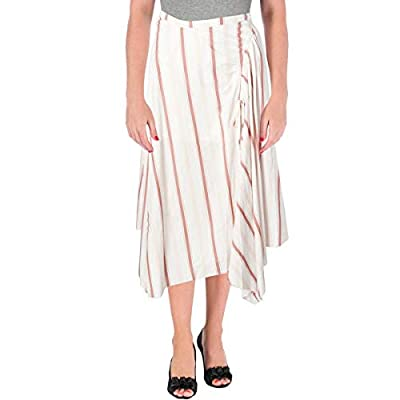 Free People Womens Juniors Ruched Layered Maxi Skirt