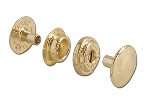 Line 24 Snaps Antique Brass 10/pk Item #1263-04 (Snaps Antique Brass)