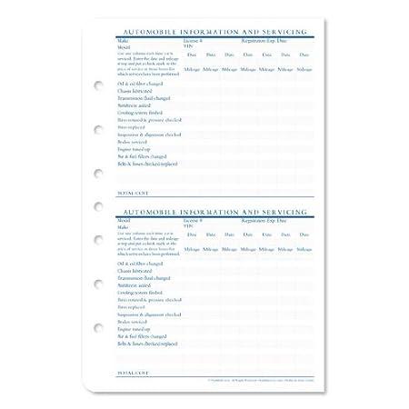 Amazon.com : Classic Financial Plans Supplement : Office Calendars ...