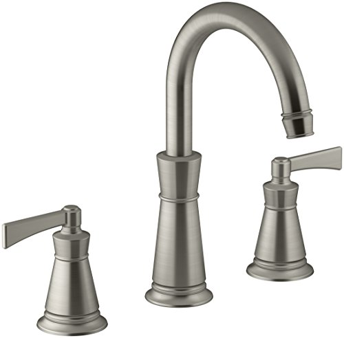 KOHLER T45849-4-BN Archer Deck-Mount Bath Faucet Trim, Vibrant Brushed Nickel