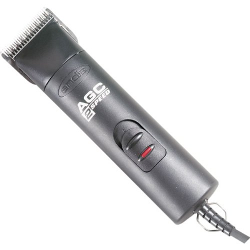 Andis AGC 2-Speed Pet Clipper with No.10 Blade, Black, My Pet Supplies