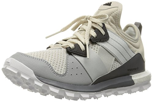 adidas Performance Women's Response TR w Running Shoe, Clear Brown/White/Matte Silver, 9 M US Tr Trail Running Shoes