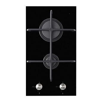 Ikea Mojlig Domino Gaz Plaque De Cuisson 2 Feux Noir 29