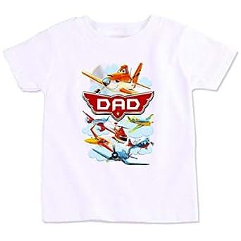 Disney Planes Dad Family Matching Birthday T-Shirt Xl