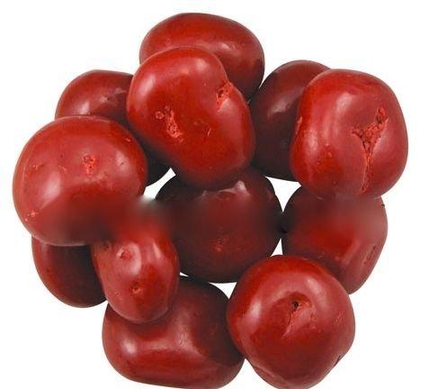 Pastel Chocolate Cherries - Marich Chocolate Covered Bing Cherries, 1 Pound
