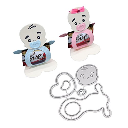 (Susada Baby Doll Cutting Dies Stencil DIY Scrapbooking Embossing Album Paper Card Craft for Card Making On Prime for Scrapbooking Photo Abulm)