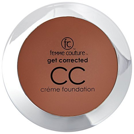 Chocolate Foundation - Femme Couture Get Corrected CC Creme Foundation Chocolate Truffle Chocolate Truffle