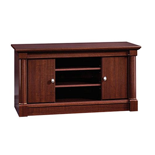 - Sauder 411864 Palladia Panel TV Stand, For TV's up to 50