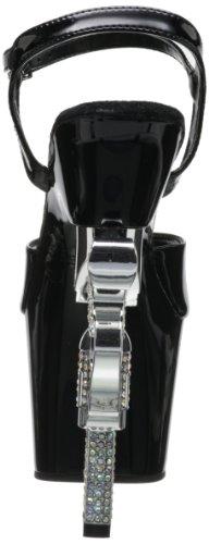 Revolver Shoes Usa Pleaser Nero 709 w14RHqZxC