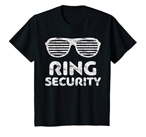 (Ring Security T-Shirt Bearer Wedding Gift)
