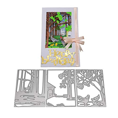 Cards Envelope DIY Gift Box Cutting Die Embossing for Scrapbook Album Decor