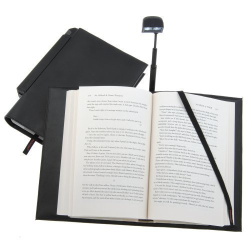 Booklight in a Bookcover
