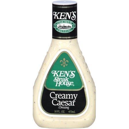 (KEN'S Steak House Creamy Caesar Dressing Squeeze Bottle 16 oz)