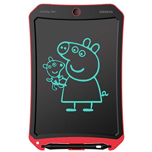 IGERESS Newest 8.5-inch LCD Writing Tablet with Cool Robot Element Design Electronic Writing Board for Kids and Adults Happy Drawing and Working Saving Paper ...