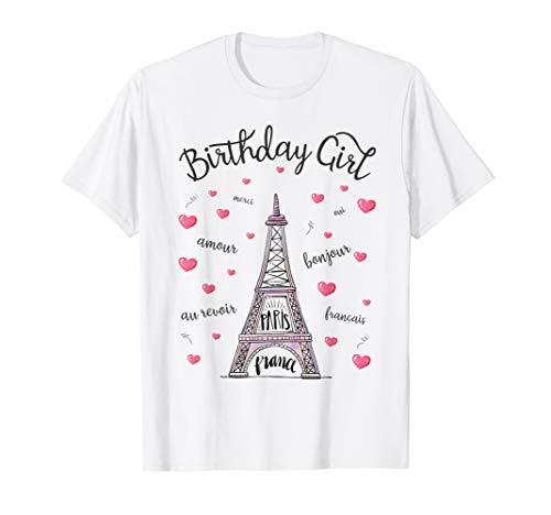 Birthday Girl Paris Themed Birthday Party Eiffel Tower