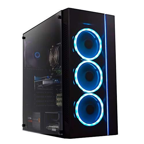 Periphio Gaming Desktop Computer Tower PC, Intel Quad Core i5 3.1GHz, 8GB RAM, 128GB SSD + 1TB 7200 RPM HDD, Windows 10…