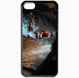 Personalized iPhone 5C Cell phone Case/Cover Skin A Avatar 19574 Black