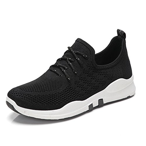 Zapatos de mujer Nan de Verano de Moda Plana Inferior Transpirable Solos Zapatos Cuatro Colores Para Elegir Negro