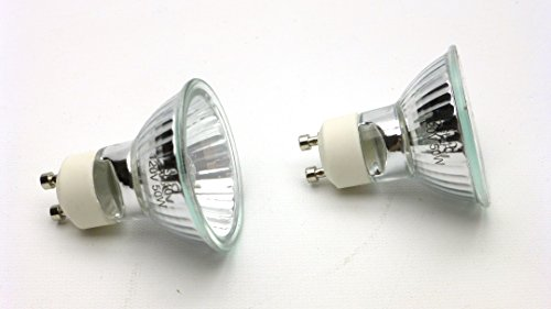Picture of Carolina Custom Cages 50w GU10 Halogen Reptile Basking Bulbs, set of 2