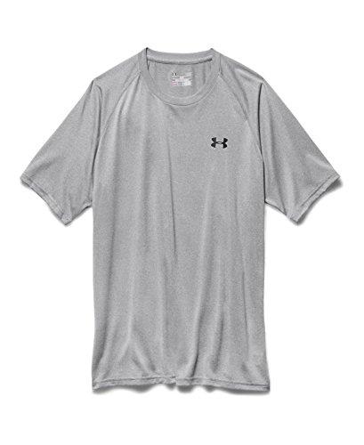 Under Armour Men's UA Tech™ Short Sleeve T-Shirt Medium True Gray Heather